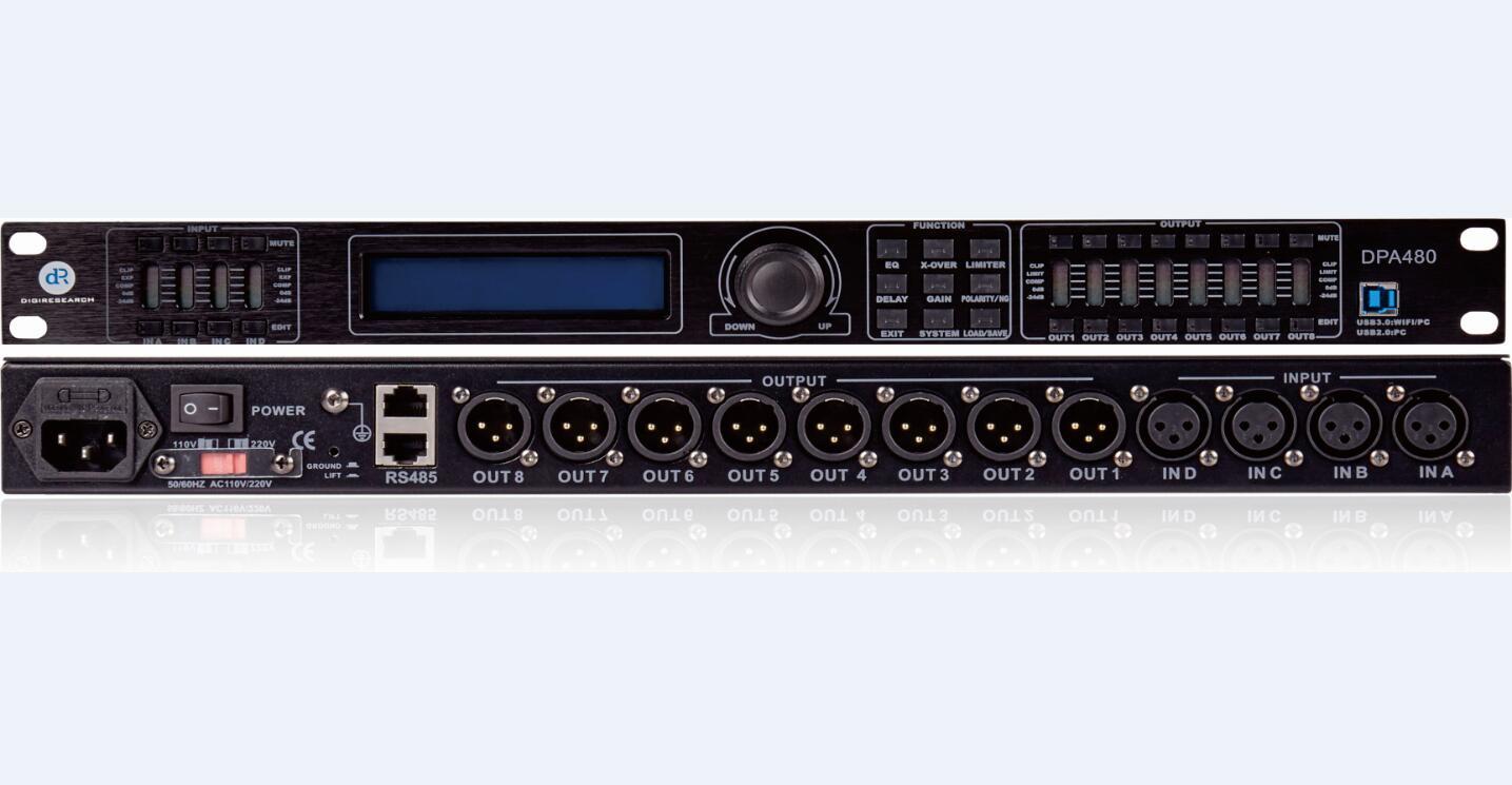 DPA480數字音響處理器