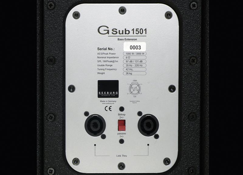 G Sub 1501